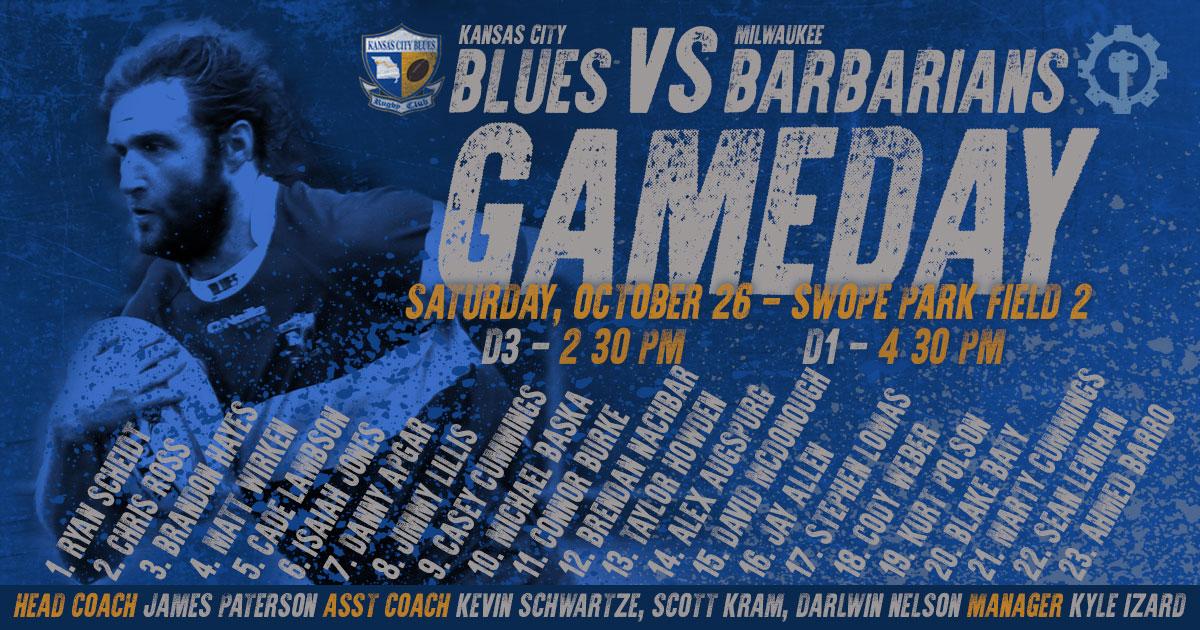 Results: Kansas City Blues vs Milwaukee Barbarians