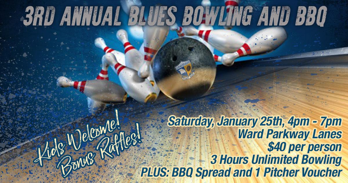 3rd Annual KC Blues Bowling and BBQ!