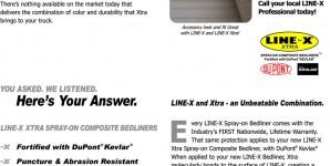 Line-X Xtra Compostie Coatings!