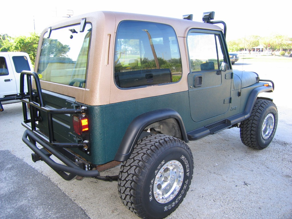 Complete Line-X Xtra Jeep