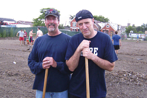 Keith Brown and Bob Muzikowski