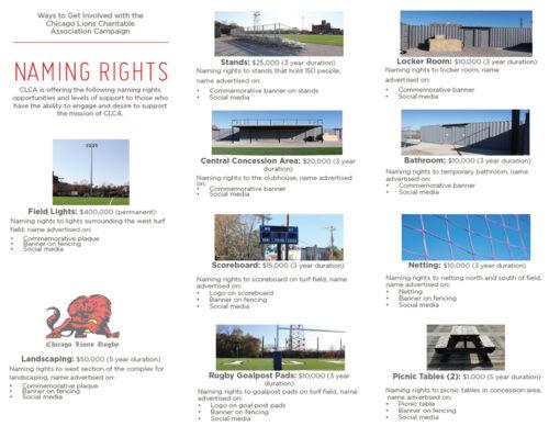 CLCA Naming Rights