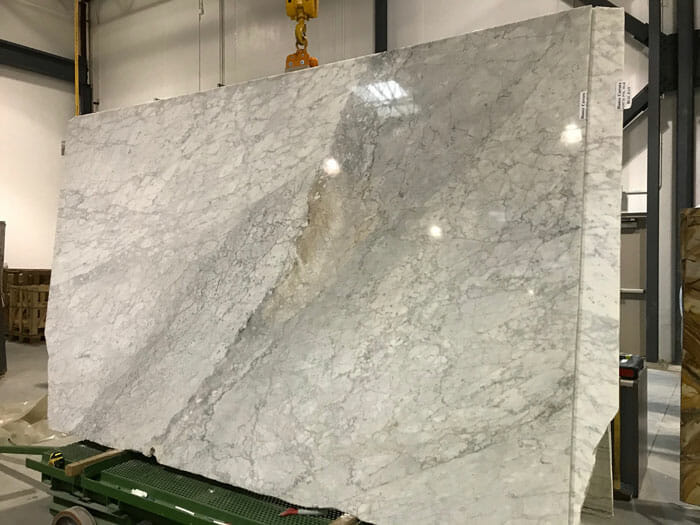 Bianco Carrara 2cm Polished Marble
