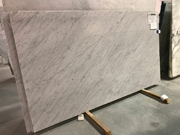 Bianco Carrara Treated SCS 3cm Marble Polished