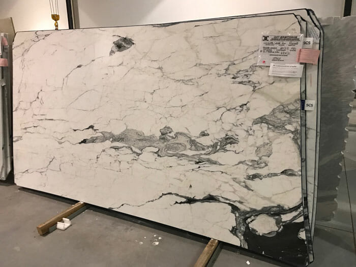 Calacatta Corchia Treated SCS 2cm Polished Marble