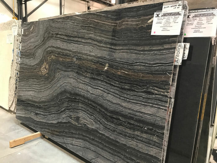Silver Brown Wave 2cm Polished Marble