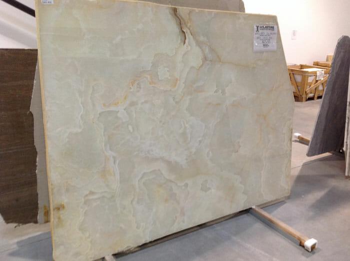 White Onyx 2cm Polished