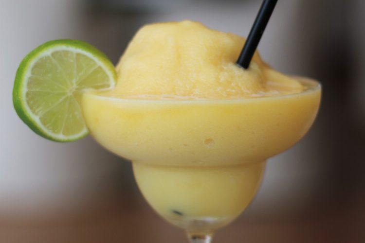 Azure Passion Fruit Mocktail