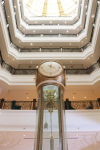 Waldorf Astoria Clock