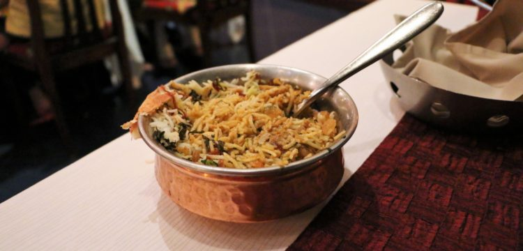 Swaad Indian Restaurant Biryani