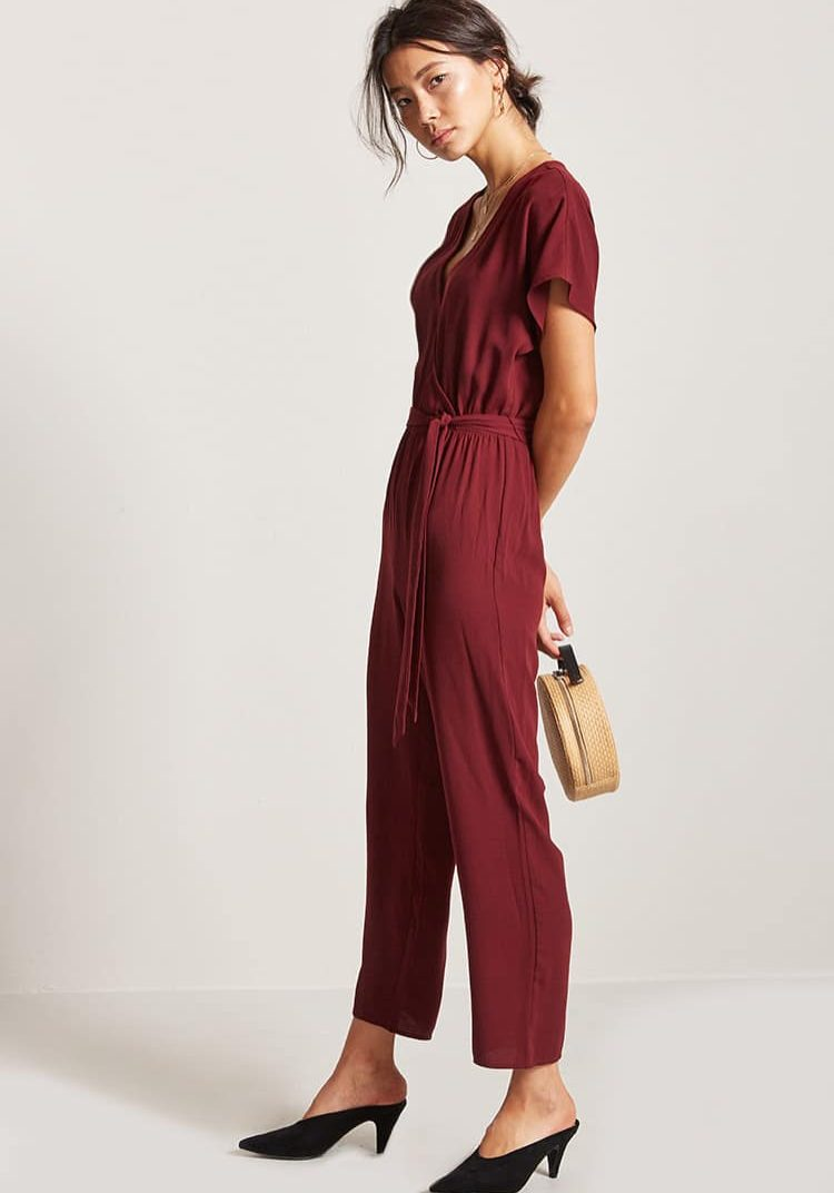 FOREVER 21  Ribbed Cami Jumpsuit