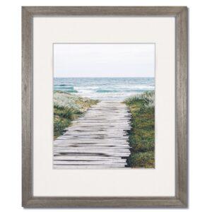 Coastal Grey Wood Frame