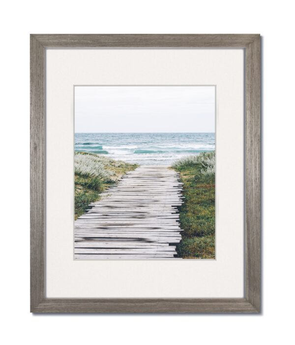 Coastal Grey Wood Frame