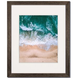 Coastal Walnut Wood Frame