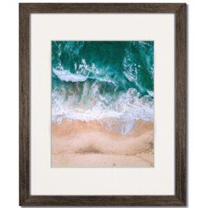 Coastal Walnut Wood Frame