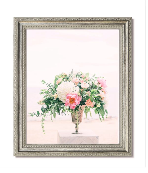 Traditional Silver Ornate Frame