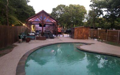 Swimming Pool Remodel – Springtown, TX