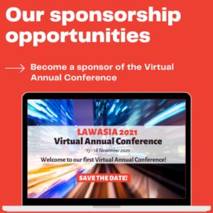 Raise Your International Profile & Become A Sponsor!