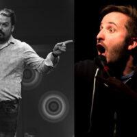 Simon Trottier et Nicolas Audet au Momos Comédie de Bromont Humour