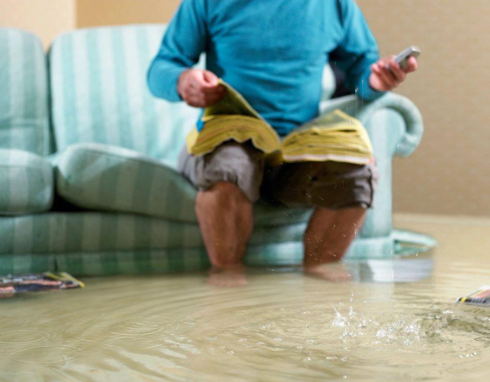 Flood Damage in Salt Lake City Home