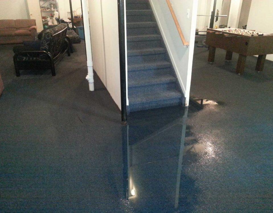 Flooded Basement Restoration AAA