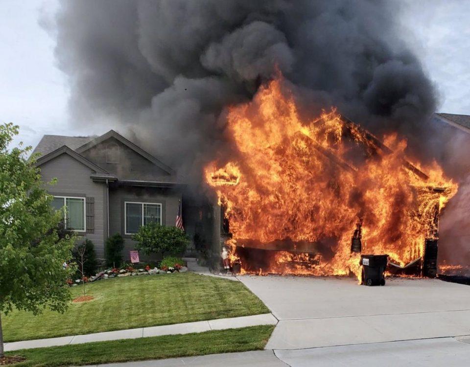 House Fire AAA Restoration Company Utah