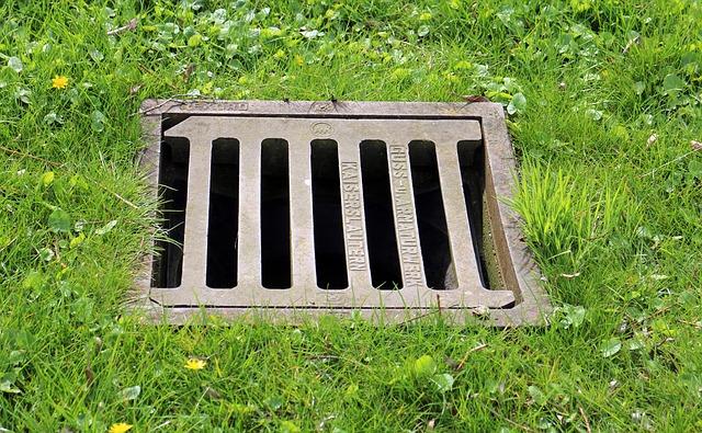 sewage drain