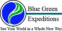 Blue Green Expeditions Logo