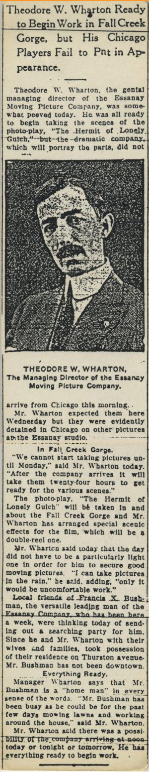 Theodore Wharton Ready