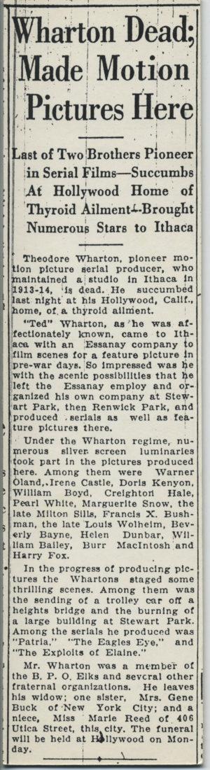 Wharton Dead