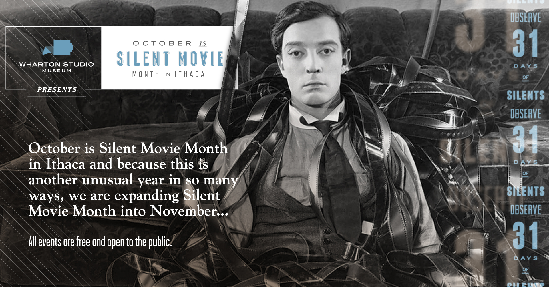October Silent Movie Month 2021