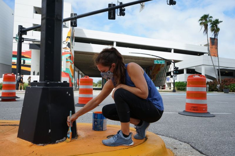 Tampa Has an Ambitious Road Mural Goal — and Even Bigger Plans If Funding Comes Through