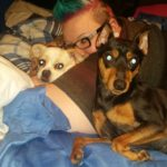 Me and two of my babies
