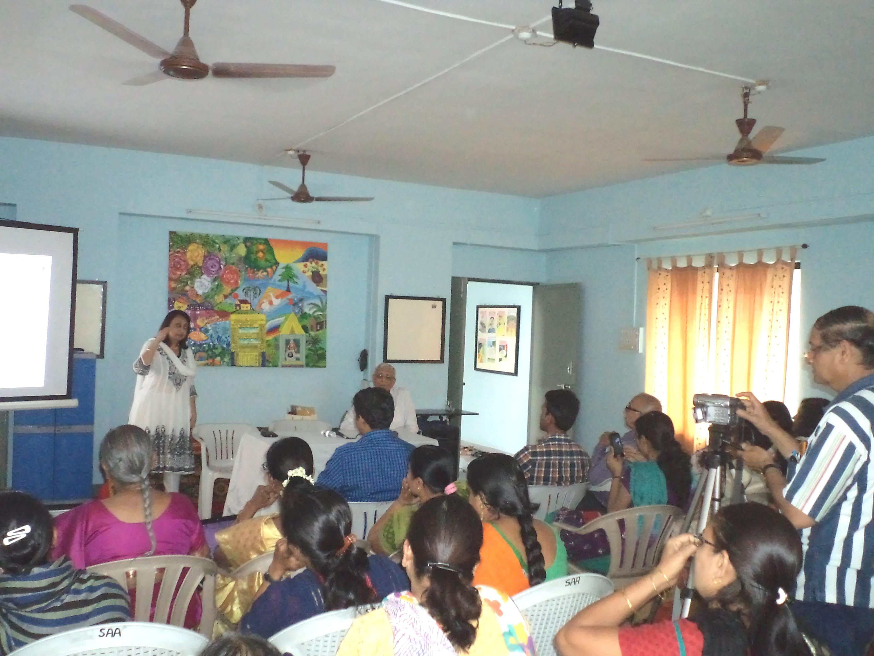 Maina Foundation's visit to SAA (Schizophrenia Awareness Association) in Pune