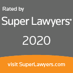 Super Lawyers 2020 for Miller Law Partners