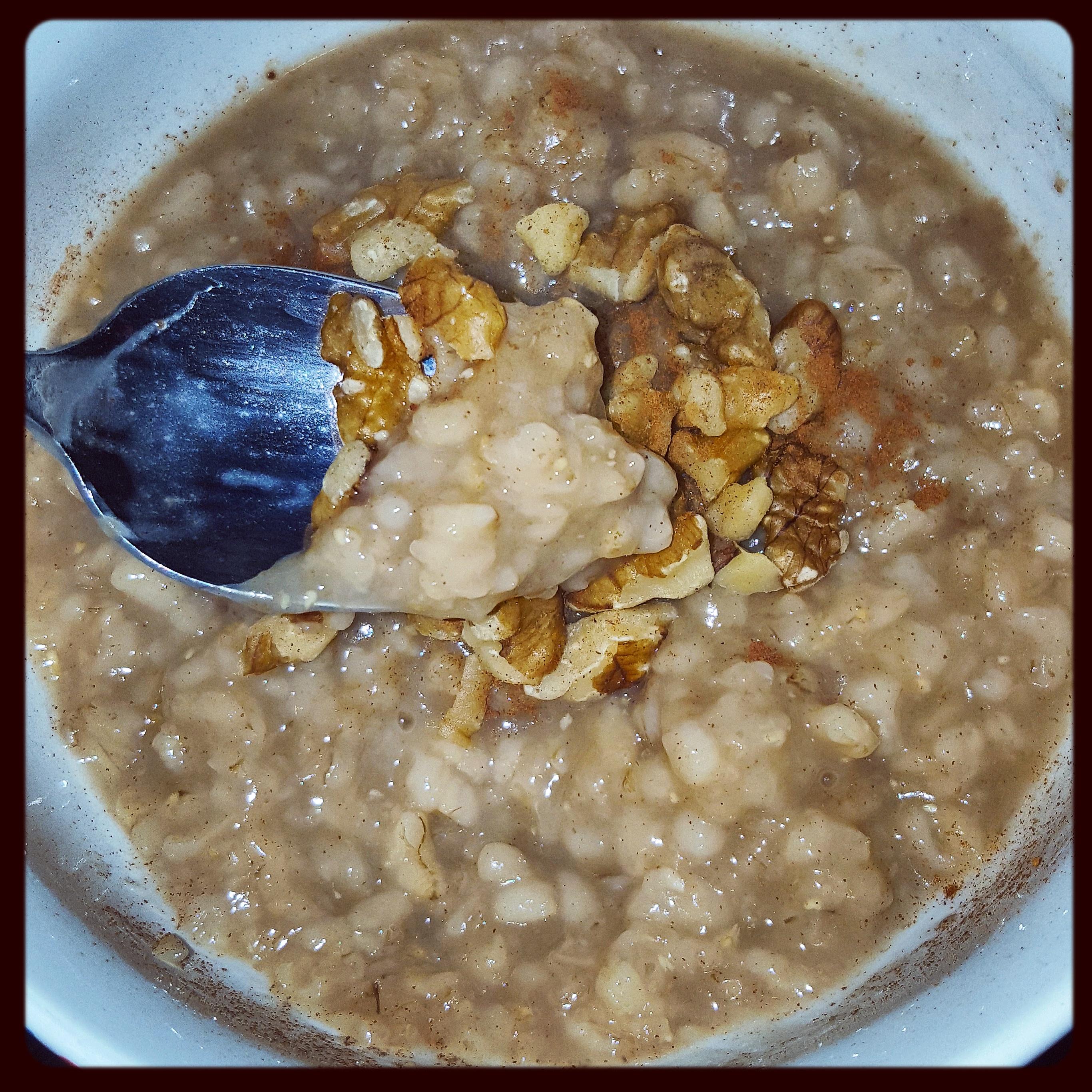 Instant Pot Maple Brown Sugar Oatmeal   Food Under Pressure