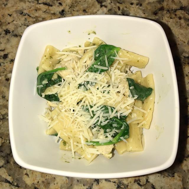 Instant Pot Pesto Chicken Pasta | Food Under Pressure