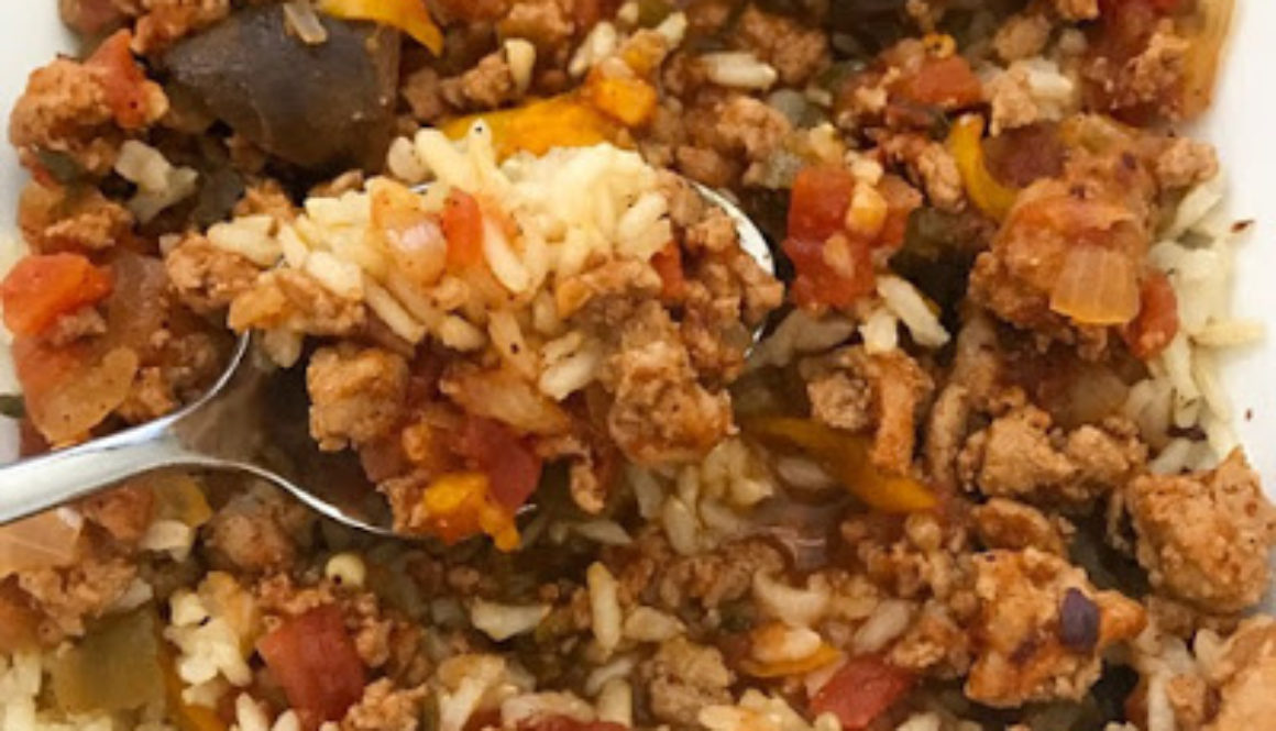 One Pot Smokey Meat Sauce & Rice