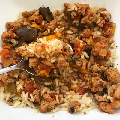 Instant Pot Smokey Meat Sauce over Rice (Pot-in-Pot) | Food Under Pressure