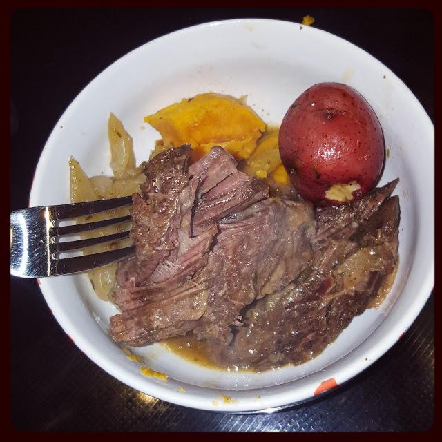 Instant Pot Savory Pot Roast & Gravy — no mushy veggies! | Food Under Pressure