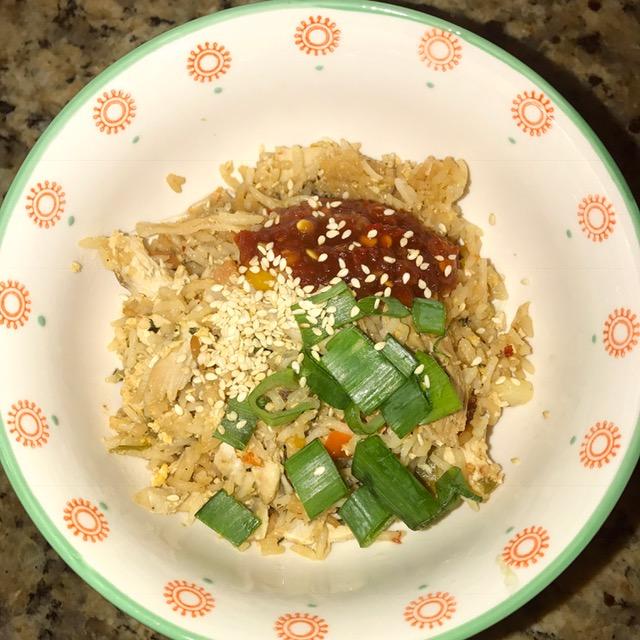 Instant Pot Chicken Fried Rice | Food Under Pressure