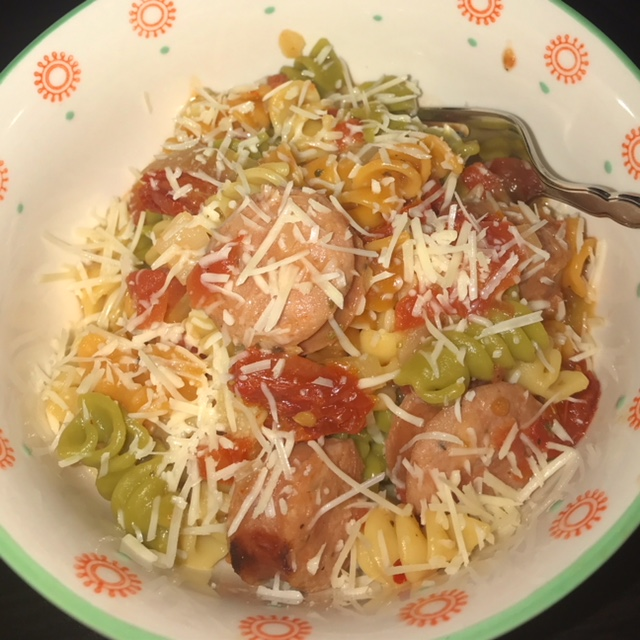 Instant Pot Sausage & Tomato Pasta | Food Under Pressure