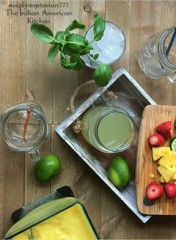 Instant Pot Simple Syrup – Basil Lime | simplyvegetarian777