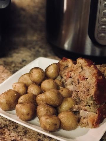 Instant Pot Meatloaf & Taters | Pure Pressure Cooking