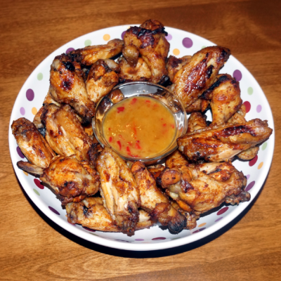 creole chicken wings
