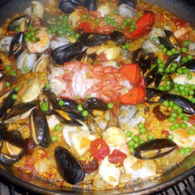 Paella - seafood