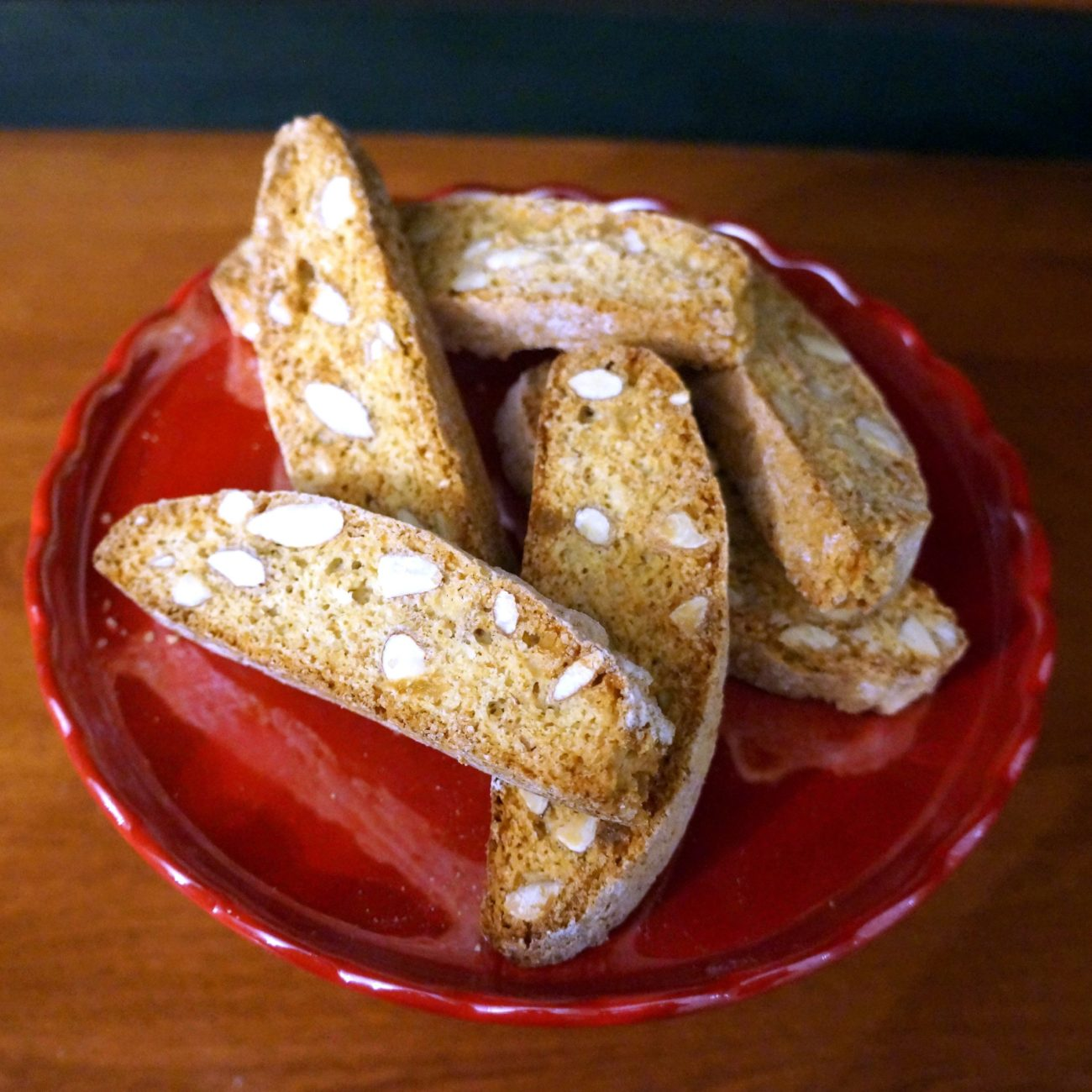 ALMOND AND GINGER BISCOTTI