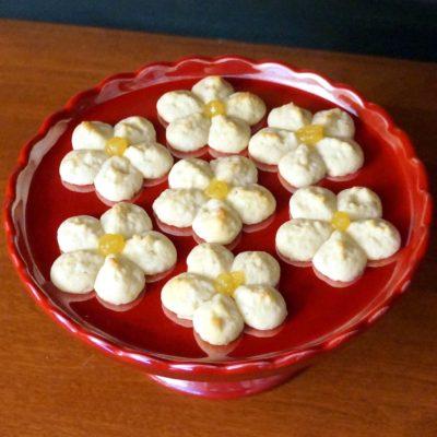 lemon spritz cookies