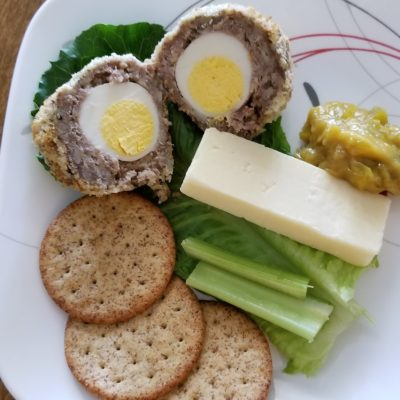 scotch egg - oven baked