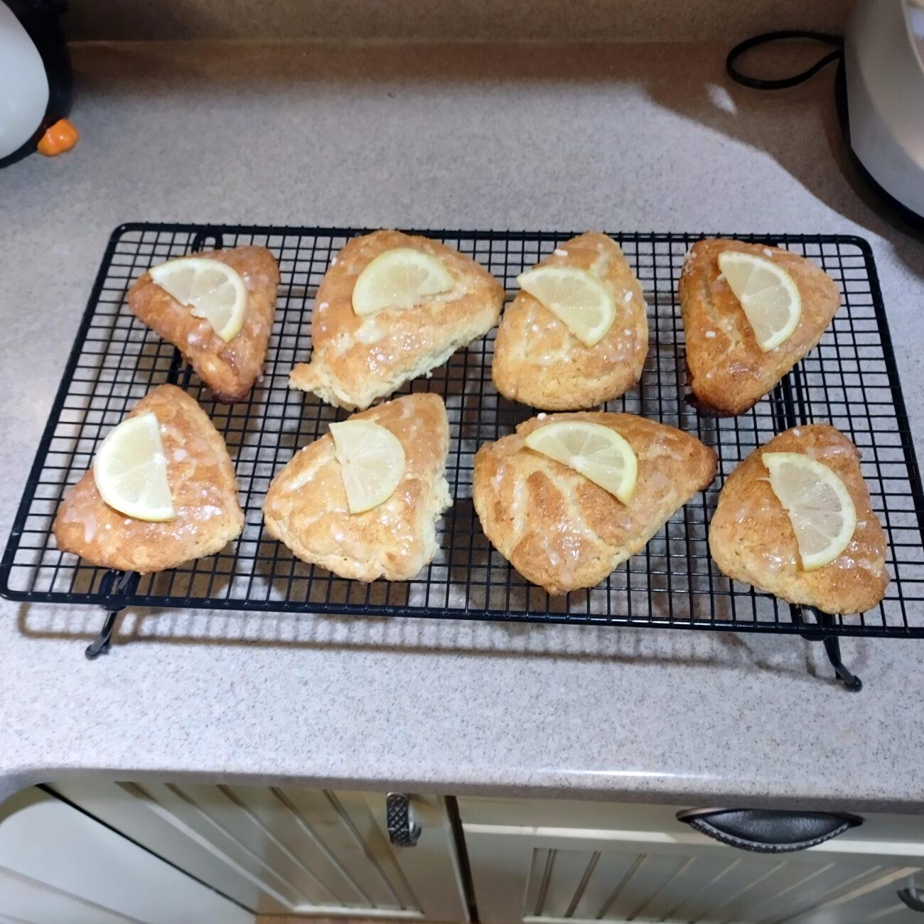 Lemon Scones – I